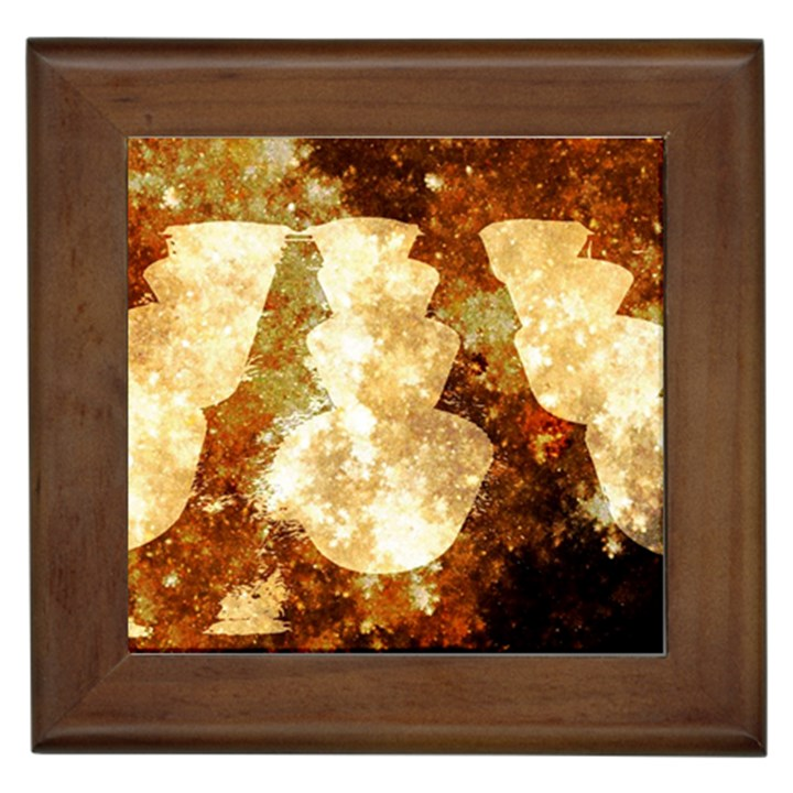Sparkling Lights Framed Tiles