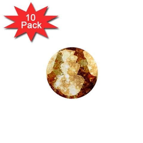 Sparkling Lights 1  Mini Magnet (10 pack)