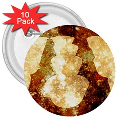 Sparkling Lights 3  Buttons (10 pack)