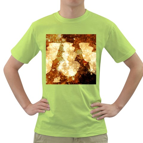 Sparkling Lights Green T-Shirt