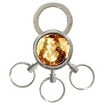 Sparkling Lights 3-Ring Key Chains Front