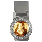 Sparkling Lights Money Clips (CZ)  Front