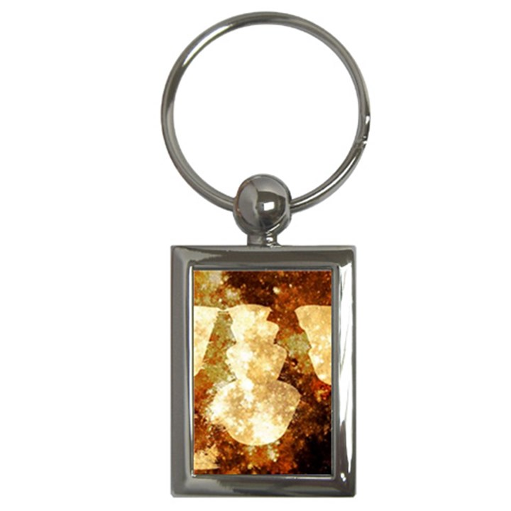 Sparkling Lights Key Chains (Rectangle)