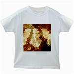 Sparkling Lights Kids White T-Shirts Front