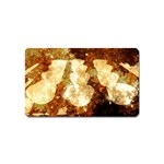 Sparkling Lights Magnet (Name Card) Front