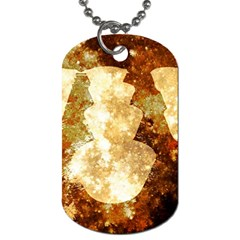 Sparkling Lights Dog Tag (one Side)