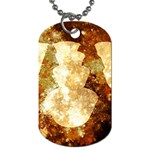 Sparkling Lights Dog Tag (Two Sides) Back
