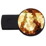 Sparkling Lights USB Flash Drive Round (1 GB)  Front
