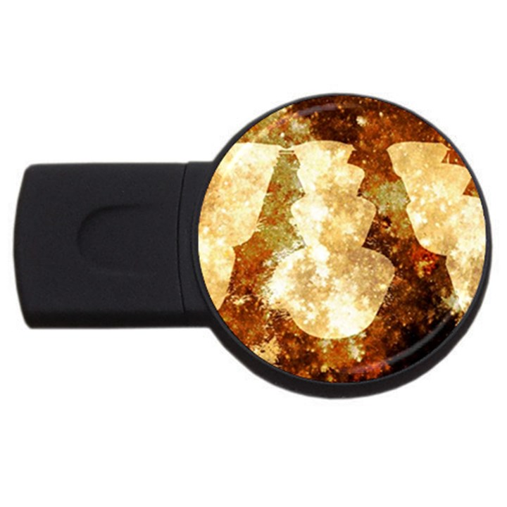 Sparkling Lights USB Flash Drive Round (1 GB)
