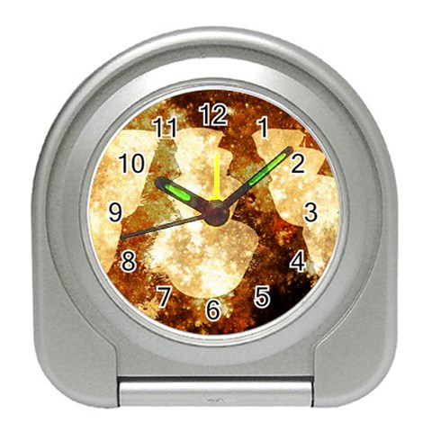 Sparkling Lights Travel Alarm Clocks