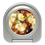 Sparkling Lights Travel Alarm Clocks Front