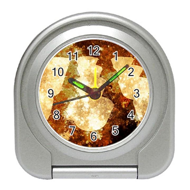 Sparkling Lights Travel Alarm Clocks
