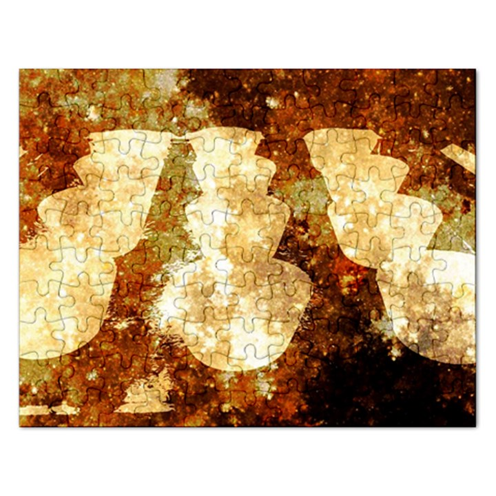 Sparkling Lights Rectangular Jigsaw Puzzl