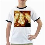 Sparkling Lights Ringer T-Shirts Front