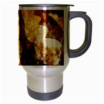 Sparkling Lights Travel Mug (Silver Gray) Right