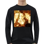 Sparkling Lights Long Sleeve Dark T-Shirts Front
