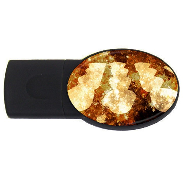 Sparkling Lights USB Flash Drive Oval (4 GB)