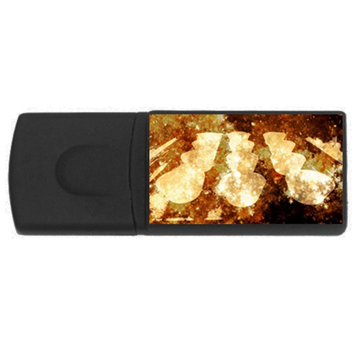 Sparkling Lights USB Flash Drive Rectangular (4 GB)