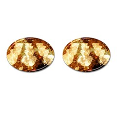 Sparkling Lights Cufflinks (Oval)