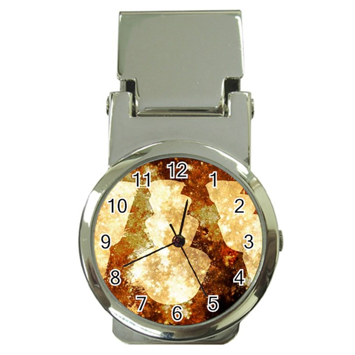Sparkling Lights Money Clip Watches