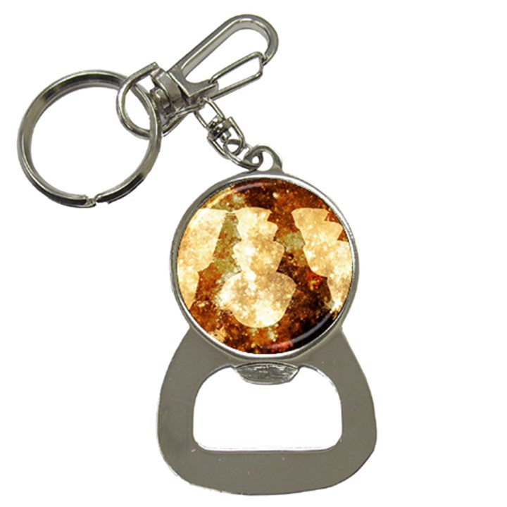 Sparkling Lights Bottle Opener Key Chains
