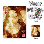 Sparkling Lights Playing Cards 54 Designs  Front - Diamond10