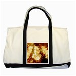 Sparkling Lights Two Tone Tote Bag Front