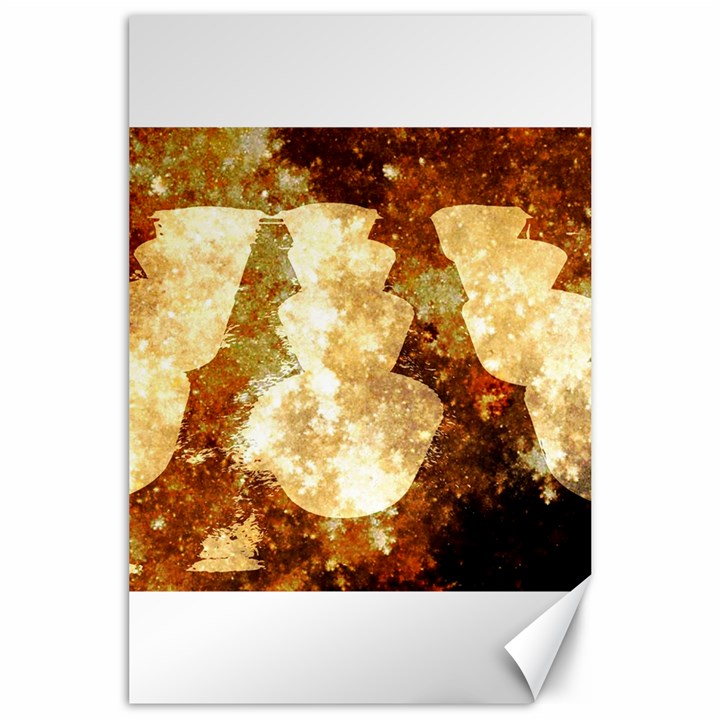Sparkling Lights Canvas 24  x 36