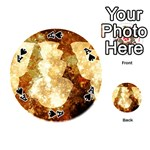 Sparkling Lights Playing Cards 54 (Round)  Front - SpadeA