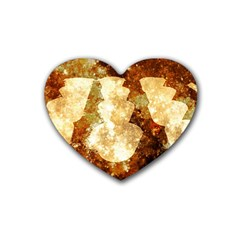Sparkling Lights Heart Coaster (4 Pack)