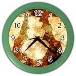 Sparkling Lights Color Wall Clocks Front