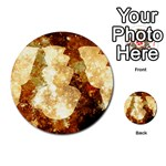 Sparkling Lights Multi-purpose Cards (Round)  Front 35