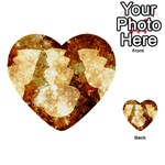 Sparkling Lights Multi-purpose Cards (Heart)  Front 12