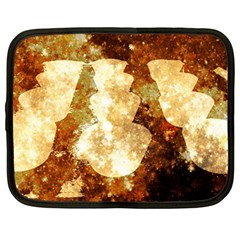 Sparkling Lights Netbook Case (Large)