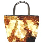 Sparkling Lights Bucket Bags Front