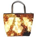 Sparkling Lights Bucket Bags Back