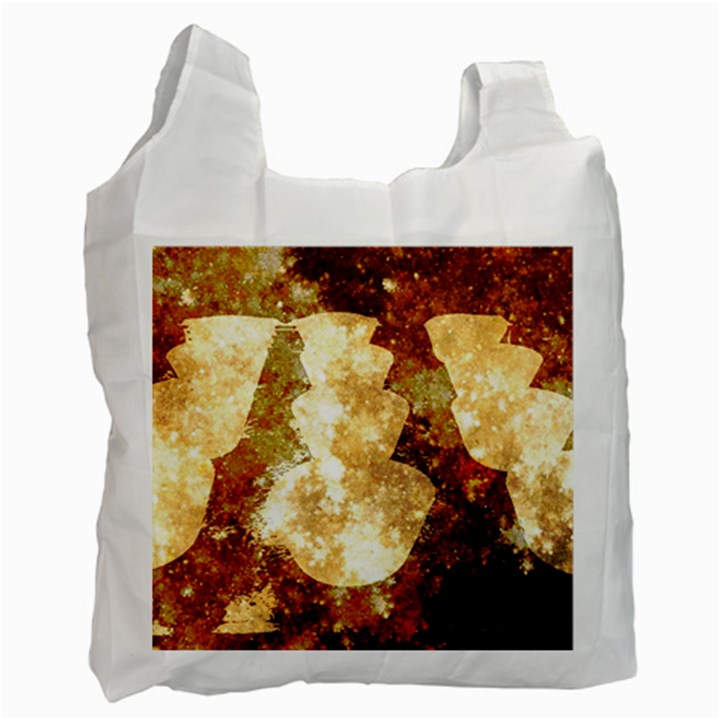Sparkling Lights Recycle Bag (One Side)