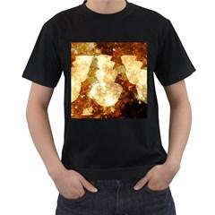 Sparkling Lights Men s T Shirt (black)