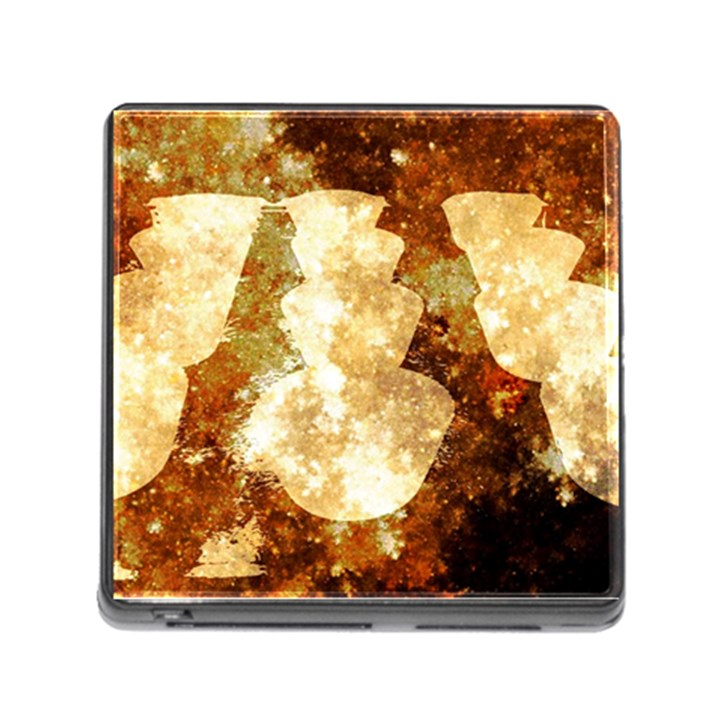 Sparkling Lights Memory Card Reader (Square)