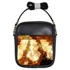 Sparkling Lights Girls Sling Bags