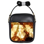 Sparkling Lights Girls Sling Bags Front