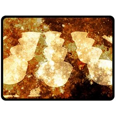 Sparkling Lights Fleece Blanket (Large)