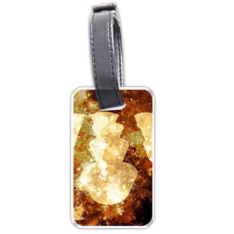 Sparkling Lights Luggage Tags (Two Sides)