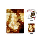 Sparkling Lights Playing Cards (Mini)  Back
