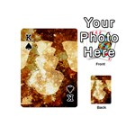 Sparkling Lights Playing Cards 54 (Mini)  Front - SpadeK