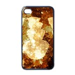 Sparkling Lights Apple iPhone 4 Case (Black) Front