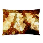 Sparkling Lights Pillow Case (Two Sides) Back