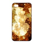 Sparkling Lights Apple iPhone 4/4s Seamless Case (Black) Front