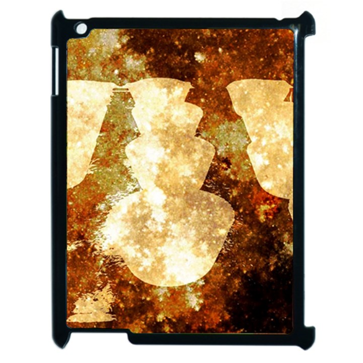 Sparkling Lights Apple iPad 2 Case (Black)