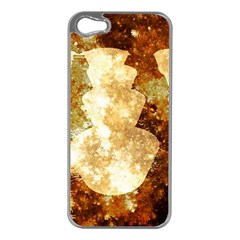 Sparkling Lights Apple Iphone 5 Case (silver)
